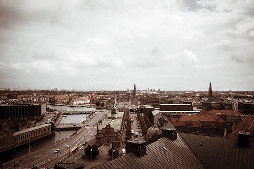 Building, Copenhagen, View, Landscape, Architecture