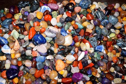 Colorful, Array, Display, Rock, Stone, Shiny, Vibrant