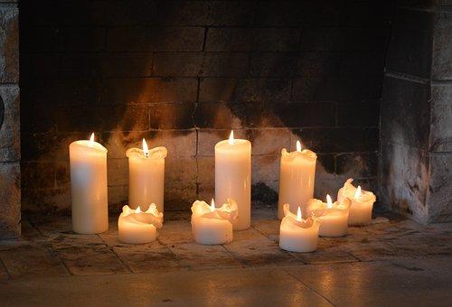 Candles, Light, Heat, Mood, Flame, Wax, Darkness