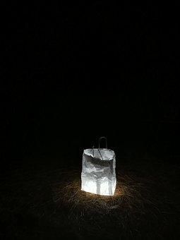 Light, Night, Darkness, At Night, Lights