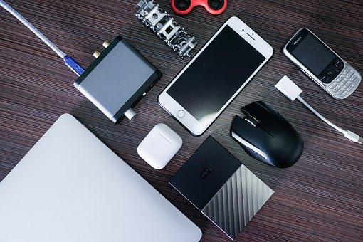 Computer, Laptop, Mobile Phone, Gadgets, Mouse