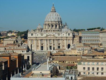St Peter's Basilica, Rome, Catholic, Vatican, Church