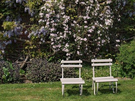Garden, Chairs, Seat, Lawn