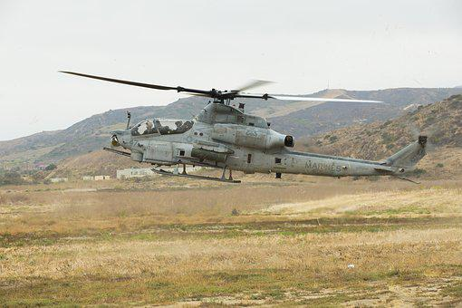 Ah-1z Viper, Helicopter, Attack Helicopter, Aviation