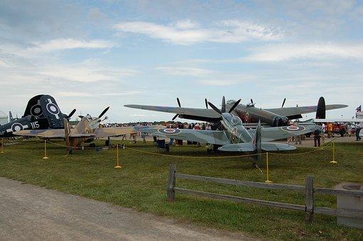 Warbirds, Aviation, Airventure, Fighter, Airforce