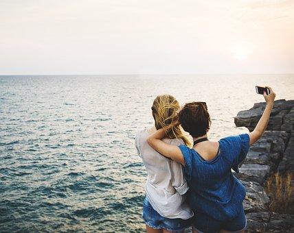 Adventure, Carefree, Casual, Caucasian, Coast