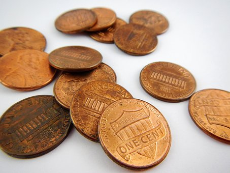 Cents, Coins, Money, Finance
