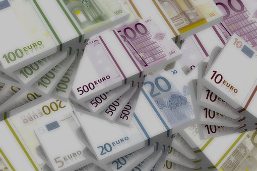 Bank Note, Euro, Bills, Paper Money