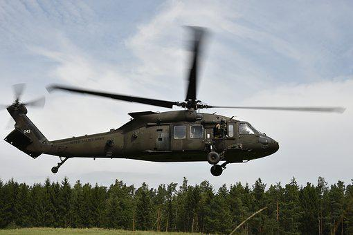 Army, Soldiers, Helicopter, Training, Exercise, Combat