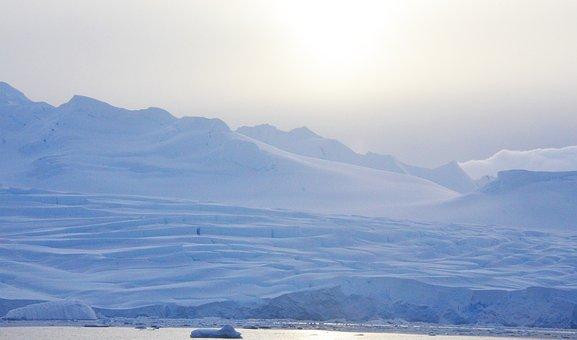 Antarctica, Ice, Glaciers, Snow