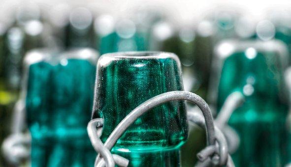 Bottles, Old Bottles, Old, Transparent, Decoration