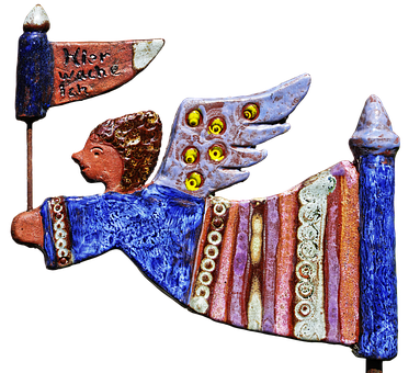 Angel, Guardian Angel, Weel, Handmade, Homemade