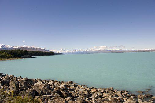 New Zealand, View, Landscape, Lake