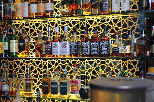 Bar, Drink, At Night, Alcohol, Nightclub, Glass, Pub