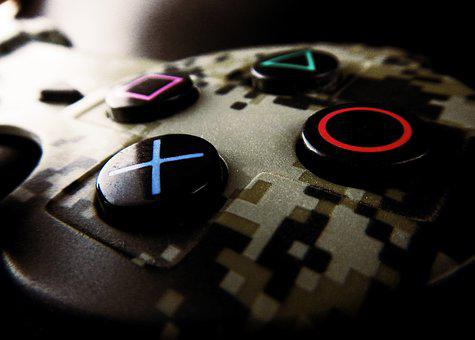 Control, Video Game, Play Station