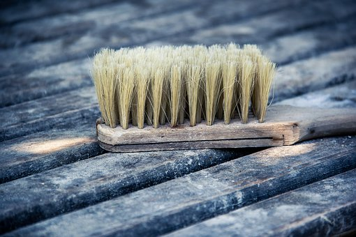 Brush, Wood, Portrait, Object, Wooden, Tool, Design
