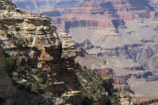 Canyon, Grand Canyon, Sand Stone, Usa, Tourism, Gorge