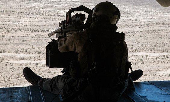 Gunner, Door Gunner, Tail Gunner, Military, Marine