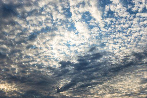 The Sky, Cloud Cover, Clouds, Weather, Summer