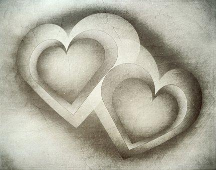 Heart, Love, Romance, Valentine's Day, Wedding, Pair