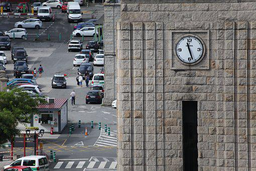 Clock, Tower, Station, Architecture, Hour, Urban