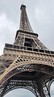 Eiffel Tower, Paris, France, Tourism, Travel