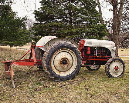 Tractor, Farm Machinery, Agriculture, Rural, Equipment