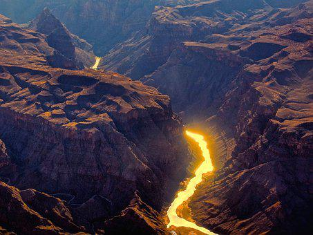 Grand Canyon, River, Canyon, Grand, Arizona, Colorado
