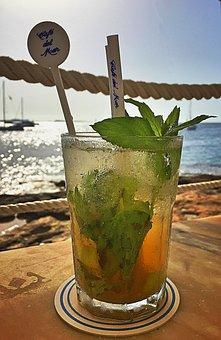 Mojito, Drink, Ibiza, Refreshment, Alcohol, Cocktail