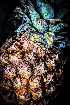 Pineapple, Fruit, Tropical, Fresh, Sweet, Ripe, Juicy