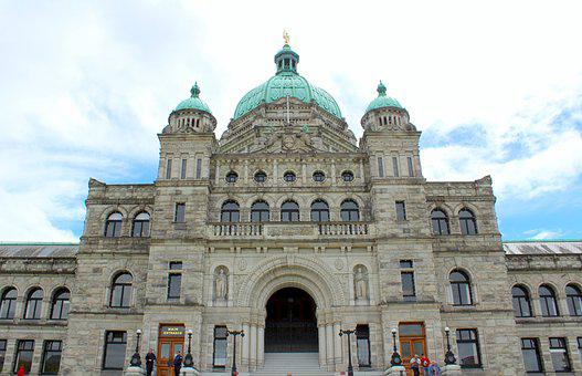 British Columbia, Legislation House, Landmark, Tourism