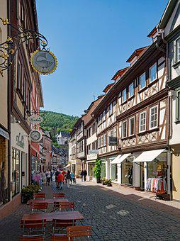 Miltenberg, Odenwald, Bavaria, Lower Franconia, Germany