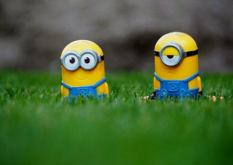 Minions, Garden, Film, Children, Rush, Movie, Minion