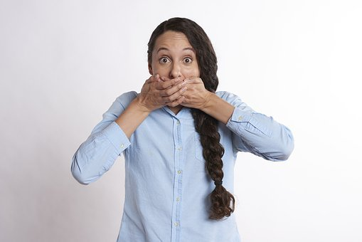 Secret, Hands Over Mouth, Covered Mouth, Mouth, Young