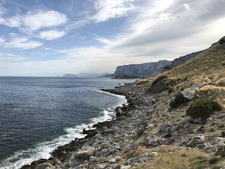 Sicily, Sea, Costa, Sky