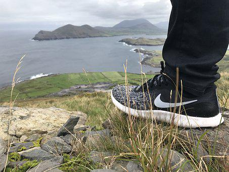 Shoes, Hiking, Nature, Foot, Sports Shoes, Nike