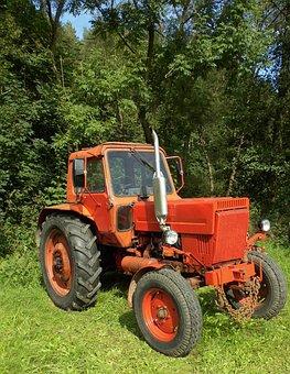 Vehicle, Tractor, Belarus, Ussr, Tractors, Agriculture