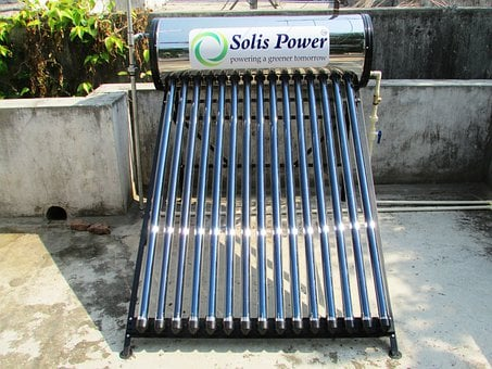 Solar, Water, Heater, Shimoga, India, Energy, Sun
