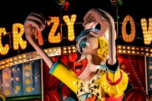 Clown, Hustle And Bustle, Fair, Folk Festival