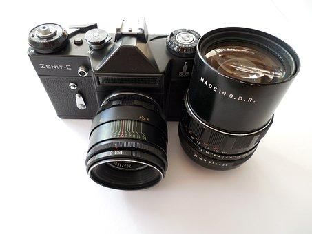 Zenith, Zenit-e, Camera, Analog, Photography