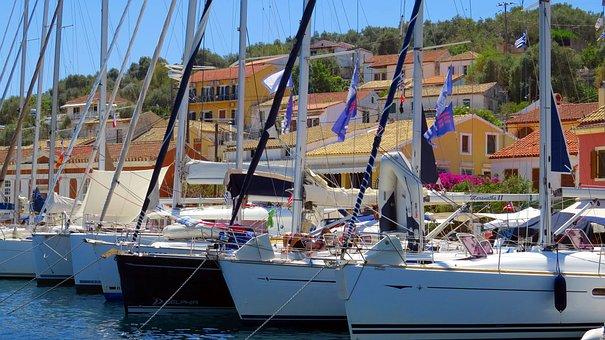 Sailboat, Sailboats, Marina, Ocean, Water, Boat