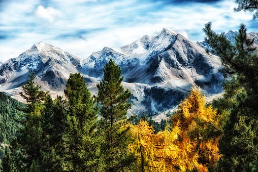 Germany, Landscape, Scenic, Mountains, Snow, Snowcapped