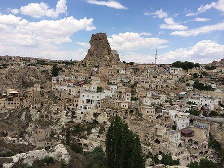Ortahisar, Cappadocia, Turkey, The Old Town