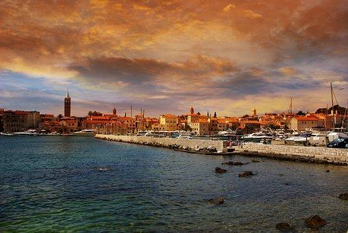 Island Of Rab, Port, Croatia, Holiday, Summer