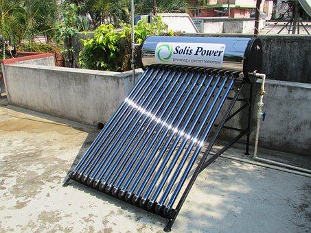 Solar Water Heater, Solar, Water, Heater, Shimoga