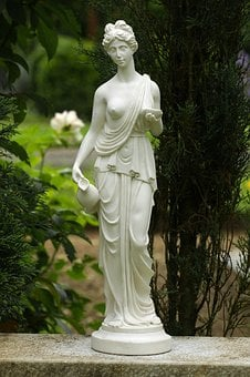 Woman, Antique, Statue, Greece, Stone Figure, Art