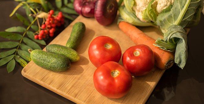 Harvest, Autumn, Vegetables, Composition, Cucumbers