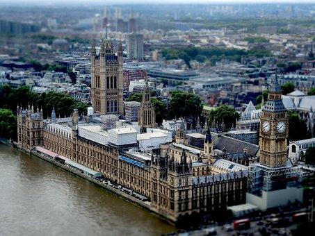 Big Ben, London, England, Ben, Clock, Big, Landmark