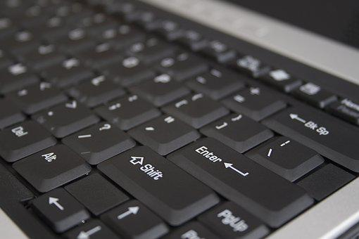 Keyboard, Computer, Laptop, Buttons, Pc, Enter