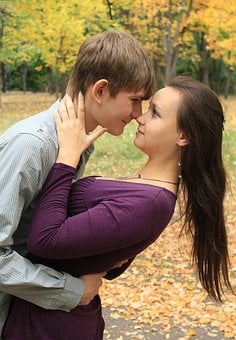 A Couple In Love, Girl, Guy, View, Beautiful, Stunning